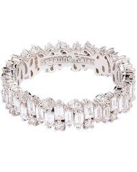 Suzanne Kalan White Gold And Diamond Fireworks Eternity Ring