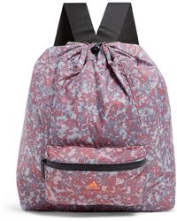 adidas By Stella McCartney Camouflage Backpack - Purple