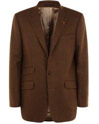 James Purdey & Sons Classic Sb3 Tweed Blazer - Brown