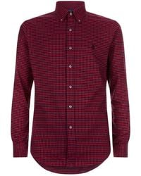 Ralph Lauren - Slim Fit Check Shirt - Lyst