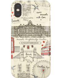 Harrods - London Sketch Iphone Xr Case - Lyst