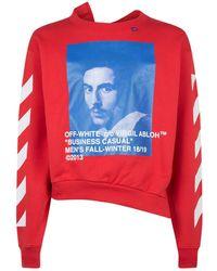 Off-White c/o Virgil Abloh - Bernini Spliced Sweatshirt - Lyst