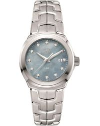 Tag Heuer Link Ladies Grey Mother Of Pearl Watch - Gray
