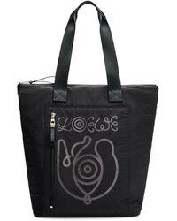 Loewe Logo Tote Bag - Black
