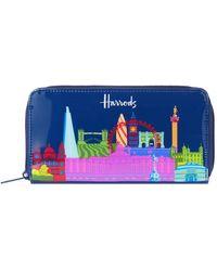 Harrods - Bright Skyline Wallet - Lyst