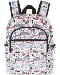 Harrods - Doodle London Backpack, White - Lyst