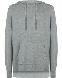 AllSaints | Arinn Hooded Sweater, Grey, L | Lyst