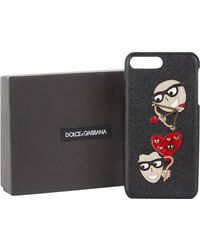 Dolce & Gabbana - Dgfamily Cupid Iphone 7/8 Plus Case - Lyst