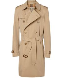 Burberry - Mid-length Kensington Heritage Trench Coat - Lyst
