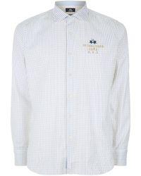 La Martina - Striped Oxford Shirt - Lyst
