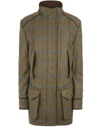 James Purdey & Sons Tweed Field Coat - Green