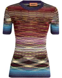 Missoni Striped T-shirt - Multicolor