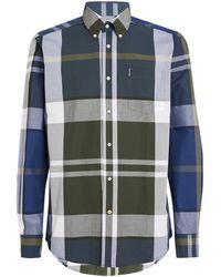 Barbour - Check Print Shirt - Lyst