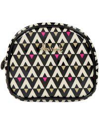 Harrods Aztec Half-moon Cosmetic Bag - Multicolor