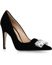 Sergio Rossi - Leather Court Shoes 100 - Lyst