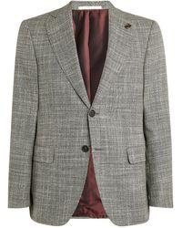 Pal Zileri Wool-blend Blazer - Grey