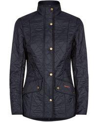 Barbour Cavalry Polarquilt Jacket - Blue