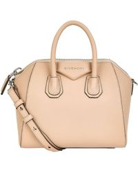 Lyst - Givenchy Antigona Small Leather Tote in Pink 52e9f027140a8