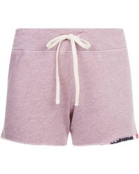 Sundry Tri-colour Embroidered Shorts