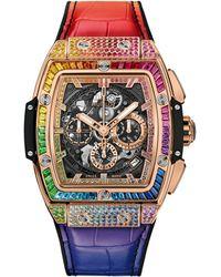 Hublot King Gold Rainbow Spirit Of Big Bang Watch 42mm - Metallic