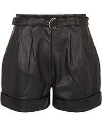 Robert Rodriguez - Leather Shorts - Lyst