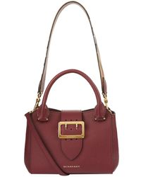 Burberry - Small Buckle Tote - Lyst