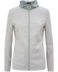 Cavalleria Toscana Hooded Jacket - Gray