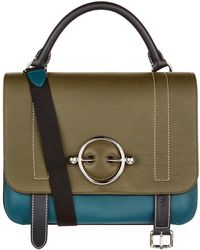JW Anderson - Leather Disc Satchel Bag - Lyst