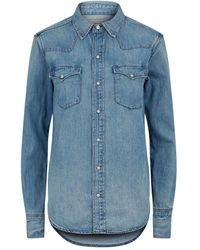 Polo Ralph Lauren Western Denim Shirt - Blue
