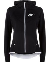 a73b19291c836 Nike Tech Fleece Windrunner Hoody in Pink - Lyst