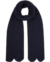 Sandro - Scalloped Trim Scarf - Lyst