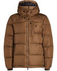 Ralph Lauren Padded Jacket - Natural