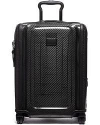 Tumi International Expandable 4 Wheel Carry-on Luggage - Black
