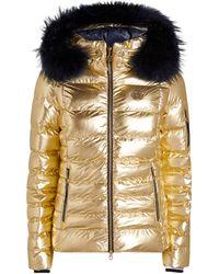 Sportalm Metallic Padded Ski Jacket