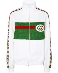 Gucci Vintage GG Track Jacket - White
