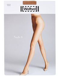 Wolford - Nude 8 Tights - Lyst