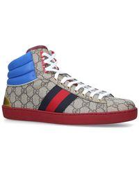 3151af304b9 Lyst - Gucci Coda Hi-top Sneaker With Interlocking G in Black for Men