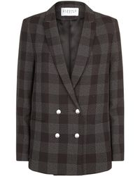 Claudie Pierlot - Checked Blazer - Lyst