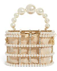 Rosantica Holli Loulou Top-handle Bag - Metallic