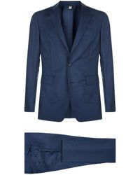 Burberry - Wool Two Piece Suit - Lyst