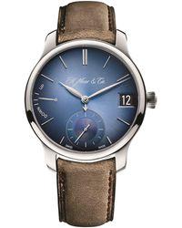 H. Moser & Cie Endeavour Perpetual Calendar Watch 40.8mm - Blue