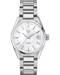 Tag Heuer - Steel Carrera Watch 36mm - Lyst