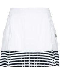 Monreal London Grand Slam Tennis Skirt - White