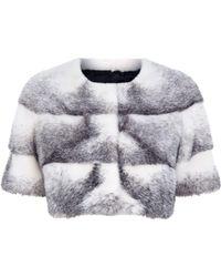Lilly E Violetta - Short Mink Fur Jacket - Lyst