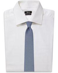 Canali - Jacquard Stripe Silk Tie - Lyst