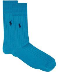 Ralph Lauren - Crew Socks - Lyst