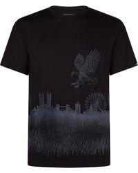 Stefano Ricci - London Skyline T-shirt - Lyst