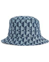 Sandro - Monogram Embroidered Bucket Hat - Lyst