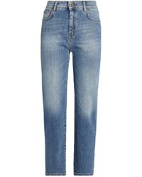 Weekend by Maxmara Straight Jeans - Blue
