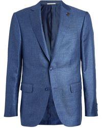 Pal Zileri Silk Tailored Jacket - Blue